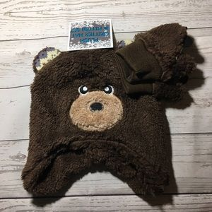 Other - Bear hat and glove set new